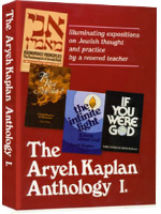 Book Aryeh Kaplan Anthology