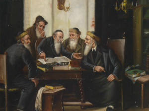 men studying Talmud 400 X 300